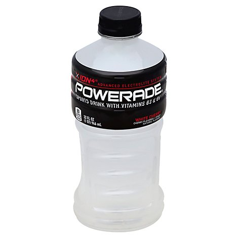POWERADE Sports Drink White Cherry - 32 Fl. Oz.