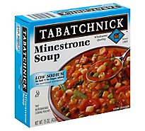 Tabatchnick Low Salt Minestrone Soup - 15 Oz