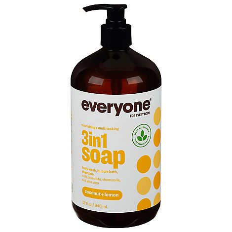 EO Everyone Soap Coconut & Lemon - 32 Fl. Oz.