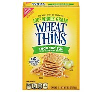 Wheat Thins Snacks Reduced Fat - 8.5 Oz