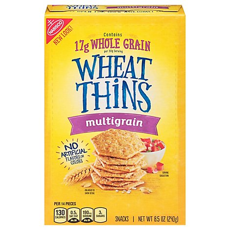 Wheat Thins Snacks Multigrain - 8.5 Oz