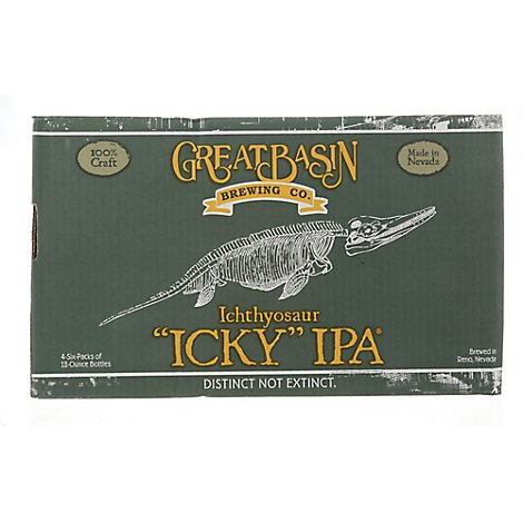 Great Basin Icky India Pale Ale Bottles - 6-12 Fl. Oz.