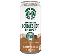 Starbucks Doubleshot Energy Coffee Beverage White Chocolate - 15 Fl. Oz.