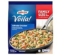 Birds Eye Voila! Frozen Meal Alfredo Chicken Family Size - 42 Oz