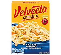 Velveeta Cheesy Skillets Dinner Kit Chicken Alfredo Box - 12.5 Oz