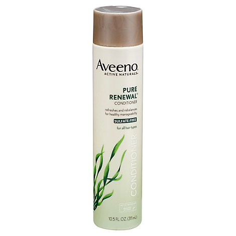 Aveeno Active Naturals Pure Renewal Conditioner For All Hair Types - 10.5 Fl. Oz.