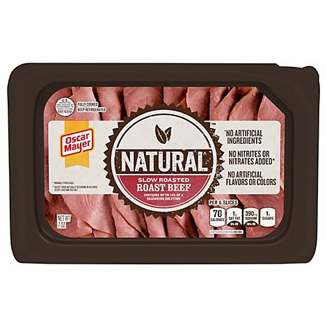 Oscar Mayer Natural Roast Beef Slow Roasted - 7 Oz