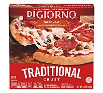 DIGIORNO Pizza For One Three Meat Frozen - 9.48 Oz