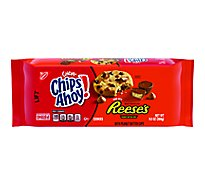 Chips Ahoy! Chewy Cookies Chocolate Chip Reeses - 9.5 Oz