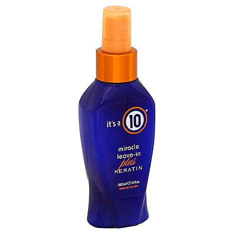 Its A 10 Miracle Leave In Plus Keratin - 4 Fl. Oz.