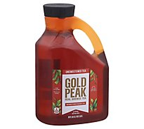 Gold Peak Tea Black Iced Unsweetened - 89 Fl. Oz.