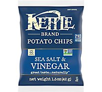 Kettle Potato Chips Sea Salt & Vinegar - 1.5 Oz