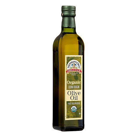 Newmans Own Olive Oil Organic Extra Virgin - 16.9 Fl. Oz.
