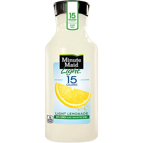 Minute Maid Light Juice Lemonade - 52 Fl. Oz.
