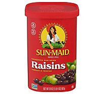Sun-Maid Raisins Natural California - 20 Oz