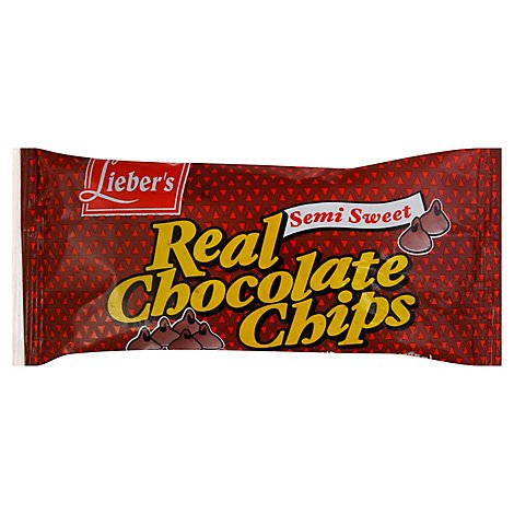 Liebers Semisweet Chocolate Chips Passover - 9 Oz