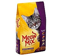 Meow Mix Cat Food Dry Original Choice - 6.3 Lb