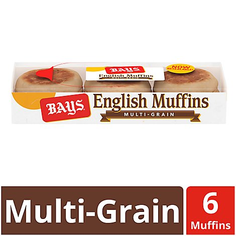Bays English Muffins Multi-Grain - 6 Count