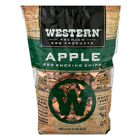 weightwatchers Western Apple Wood Smoking Chips - Each