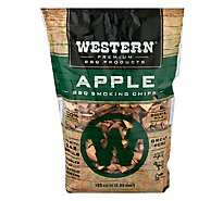 Western BBQ Smoking Chips Apple - Each