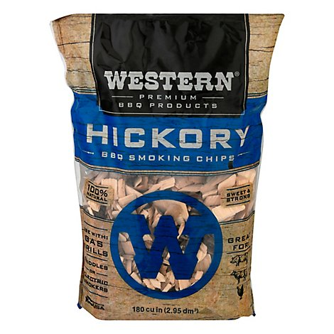 Western Hickory Smokin Chips - Each