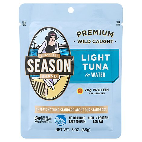 Seasn Fish Tuna Albacr Lt Pch - 3 Oz