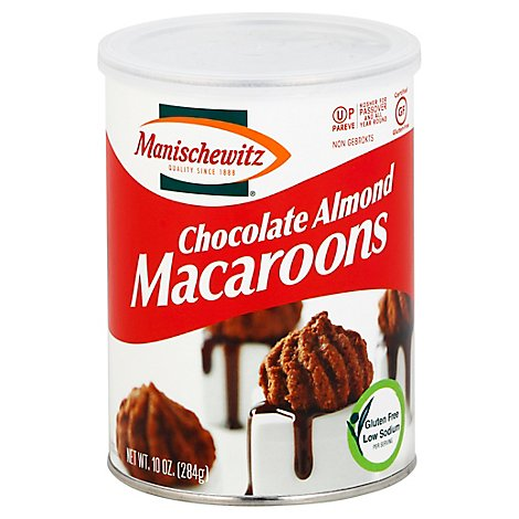 Manischewitz Chocolate Almond Macaroons - 10 Oz