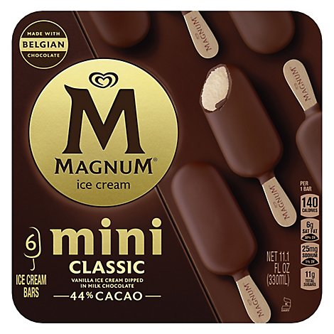 Magnum Ice Cream Bars Mini Classic - 11.1 Fl. Oz.
