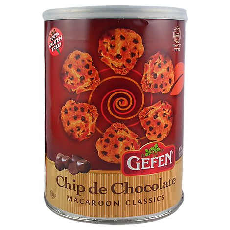 Gefen Chocolate Chip Macaroons - 10 Oz