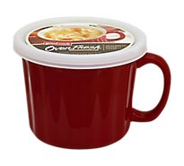 Good Cook Oven Fresh Ceramic Mug With Lid - Each