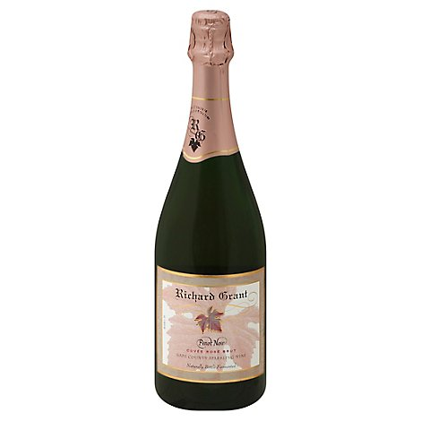 Richard Grant Cuvee Rose Brut Nv Wine - 750 Ml