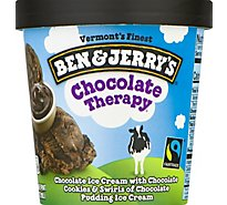 Ben & Jerrys Ice Cream Chocolate Therapy 1 Pint - 16 Oz