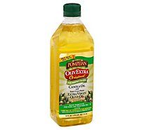 Pompeian OlivExtra The Perfect Blend Olive Oil Extra Virgin And Canola Oil Original - 24 Fl. Oz.