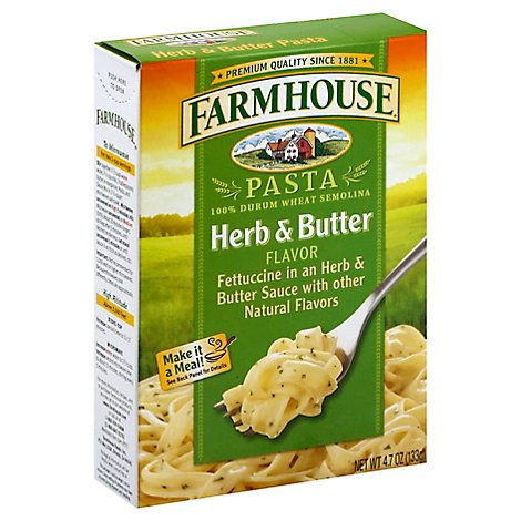 Farmhouse Pasta Herb & Butter Flavor Box - 4.7 Oz