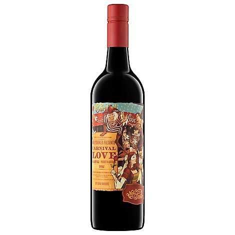 Mollydooker Carnival Of Love Shiraz Wine - 750 Ml