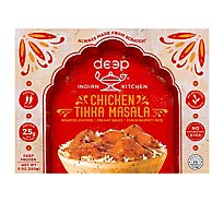 Deep Indian Kitchen Chicken Tikka Masala with Cumin Rice - 9 Oz