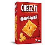 Cheez-It Baked Snack Cheese Crackers Original - 7 Oz