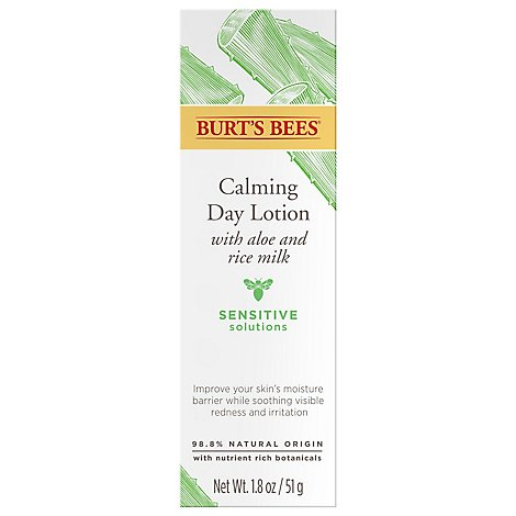 Burts Bees Natural Skin Solutions Sensitive Daily Moisturizing Cream - 1.8 Oz