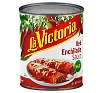 La Victoria Sauce Enchilada Red Mild Can - 28 Oz