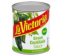 La Victoria Sauce Enchilada Green Mild Can - 28 Oz