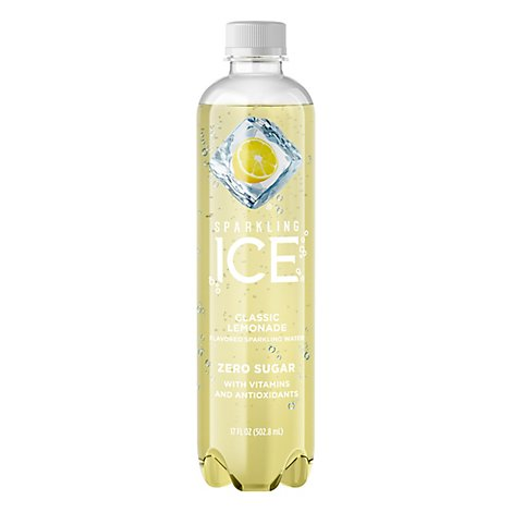 Sparkling Ice Classic Lemonade Sparkling Water 17 fl. oz. Bottle