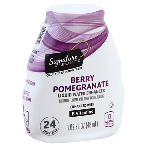 Signature SELECT Liquid Water Enhancer Berry Pomegranate - 1.62 Fl. Oz.