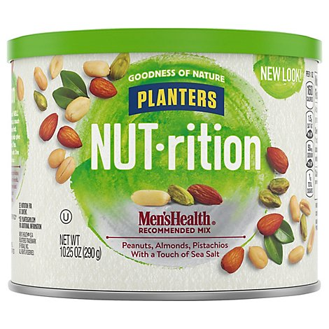 Planters NUT-rition Mens Health Recommended Mix - 10.25 Oz