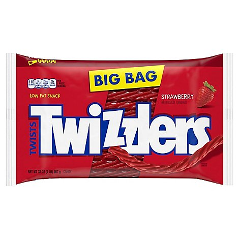 Twizzlers Candy Twists Strawberry - 32 Oz