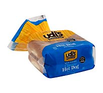 Udis Gluten Free Buns Classic Hot Dog - 14.3 Oz
