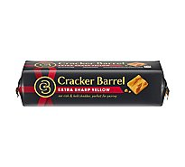 Cracker Barrel Cheese Cheddar Natural Sharp Extra Sharp - 8 Oz