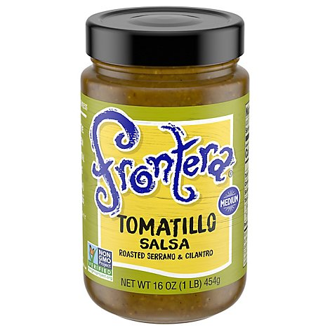 Frontera Salsa Tomatillo Medium Jar - 16 Oz