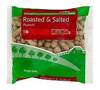 Signature Farms Peanuts Roasted & Salted - 16 Oz