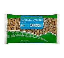 Signature Farms Peanuts Roasted & Unsalted - 32 Oz