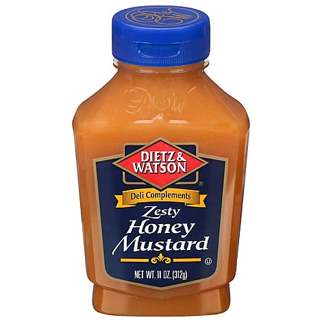 Dietz & Watson Deli Complements Honey Mustard Zesty - 11 Oz